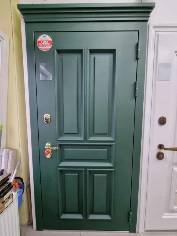 входная дверь барокко