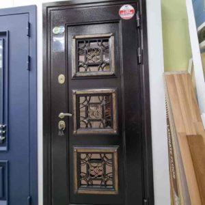 входная дверь Трио со стеклопакетом